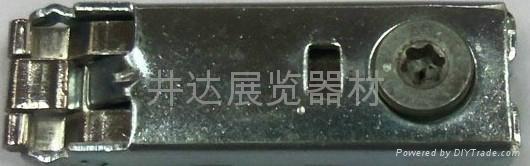 扁鋁梅花三卡鎖 2