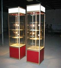 八棱柱展示柜