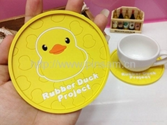 Rubber duck project Silicone coaster