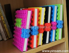 lego silicone notebook cover design  Silicone diary