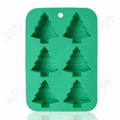 聖誕樹蛋糕模 硅膠蛋撻烘焙DIY器具