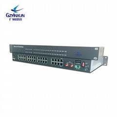 China Manufacture PCM MUX 30 channel voip pots(fxs fxo) voice over E1