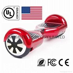 通過UL2272認証,智能小型雙輪電動平衡車