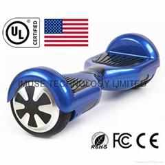 通过UL2272认证的电动双轮漂移平衡车
