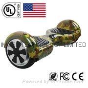 通过UL2272认证的6.5寸双轮自动平衡车 3