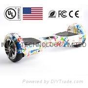 UL2272认证的双轮智能电动平衡车
