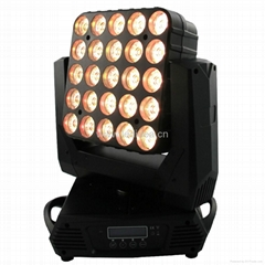 25x12W OSRAM OSTAR Quad LED Moving Matrix Blinder(Pixel Effect)
