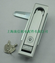 MS712-Z弹子锁芯平面锁 机柜锁