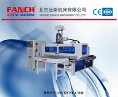 Hot sale! CNC drilling machine panel production line for furniture