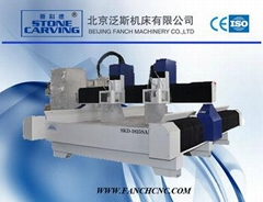 New design! 3D stone CNC router 1825SAD / 3D granite stone cutting for marble