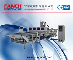 Automatic Labelling Drilling and Cutting Machining Center for Furniture Line