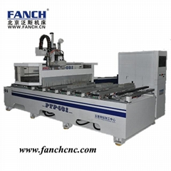 Special design ! ATC CNC router / PTP machining center with drilling unit