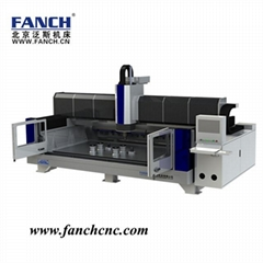 CNC stone cutting and polishing machine