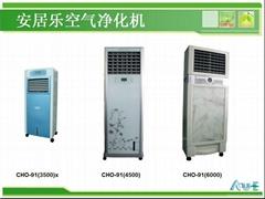 工業化工車間廢氣處理空氣淨化機器