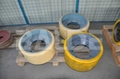 Solid tire Tyres and wheels road milling tire