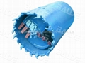 Core Barrel with Bullet Teeth for