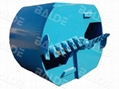 Double Cut Drilling Bucket with Flat