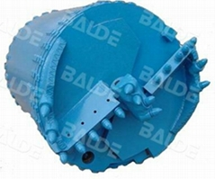 Rock Drilling Tools, Drilling Bucket double with round shank teeth