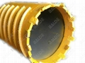 Core Barrel with Casing Teeth for