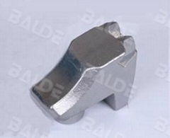 rock crusher teeth for forestry mulcher machines