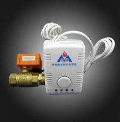 帶電動切斷閥溢水漏水報警器