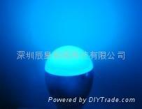 搖控七彩LED/七綵球泡