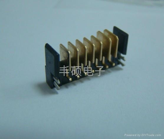 沉板式笔记本电脑电池连接器5PIN/7PIN/9PIN 1