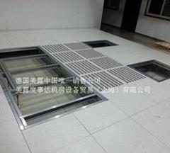 美露地板鋼結構系統