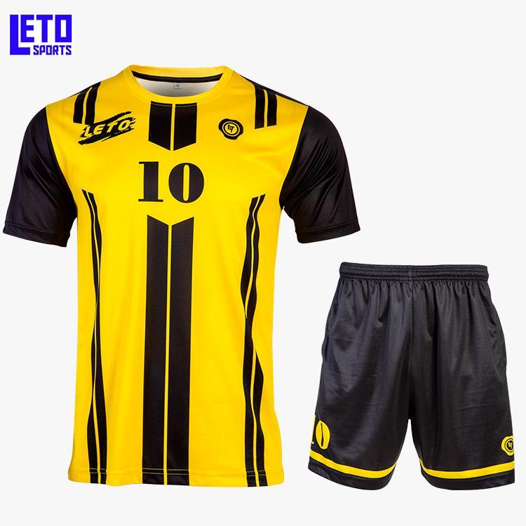 quality soccer jersey custom new design soccer kits men  1
