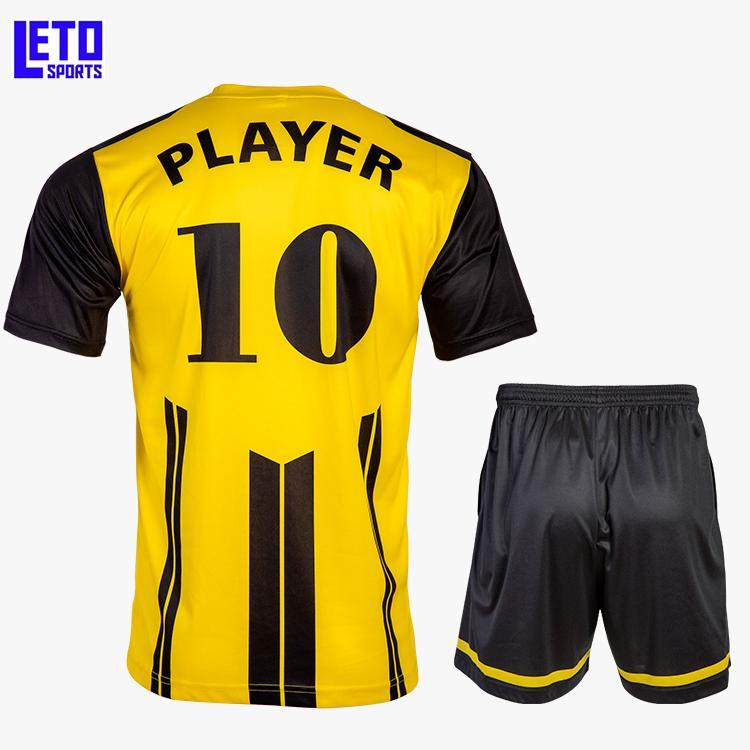 quality soccer jersey custom new design soccer kits men  3
