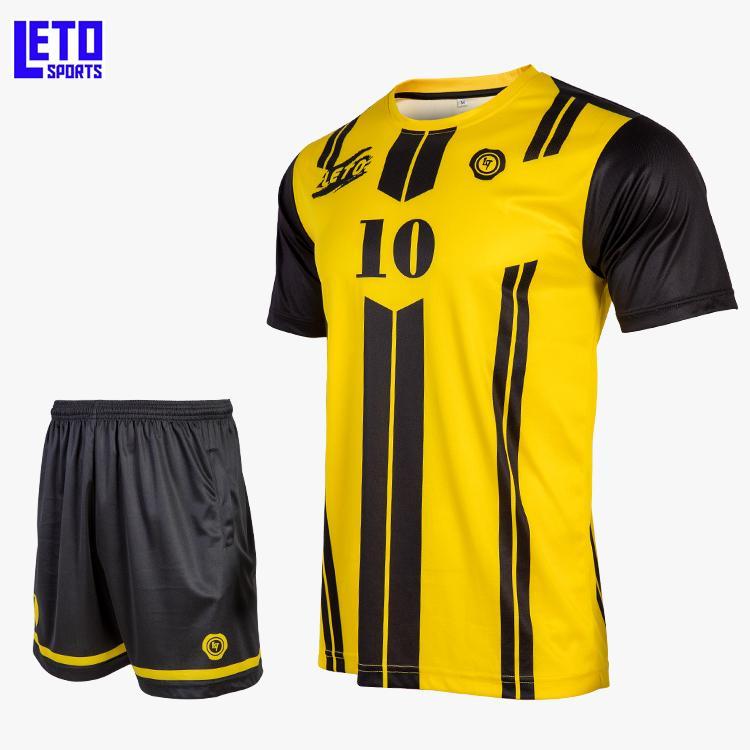 quality soccer jersey custom new design soccer kits men  5