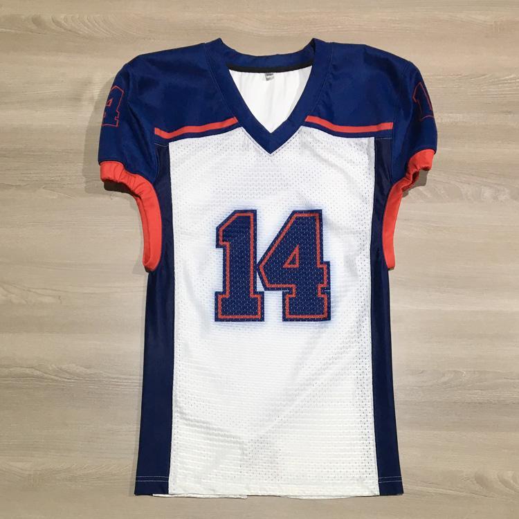 custom sublimation American football ejrsey flag football uniforms team wear 1