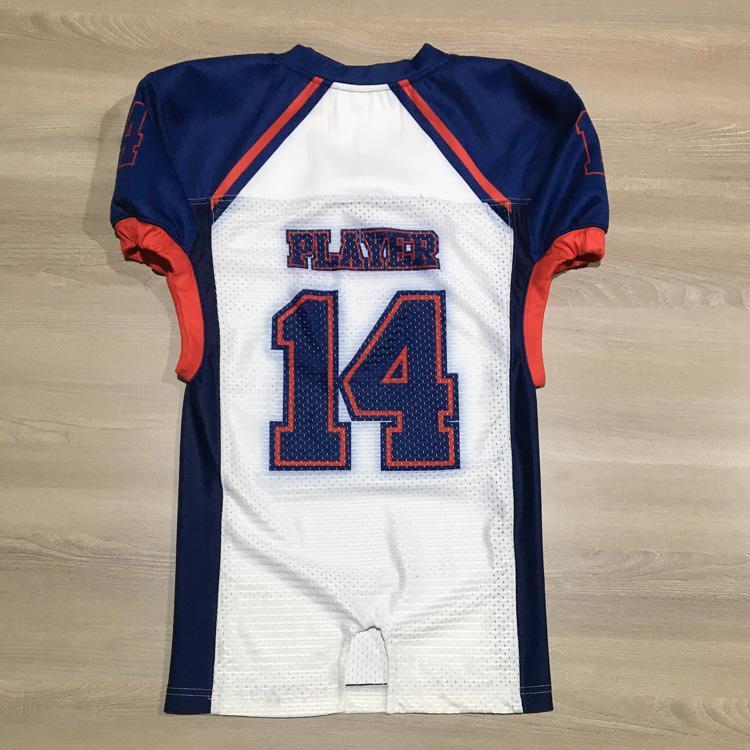 custom sublimation American football ejrsey flag football uniforms team wear 2