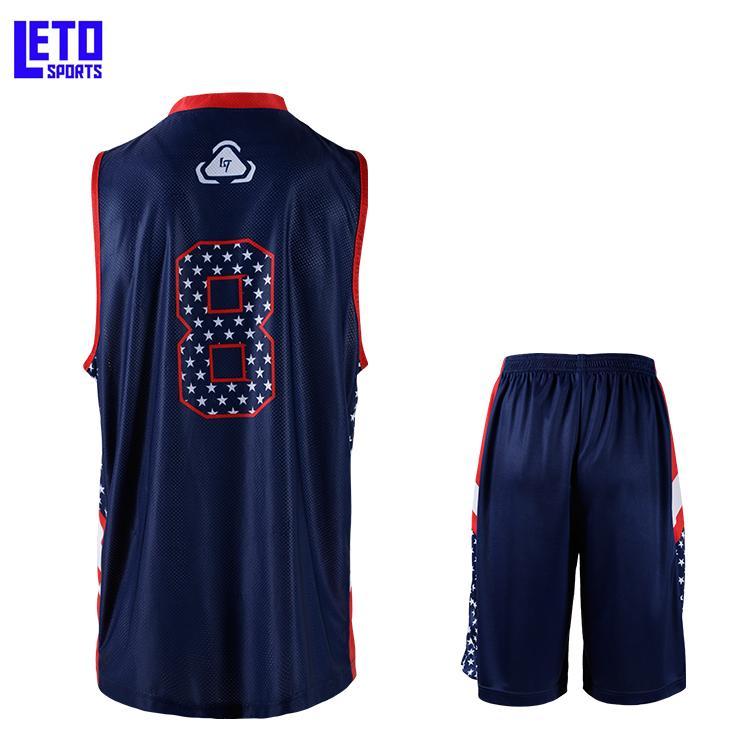 basketball uniforms hot design basketball gear team wear kits 4