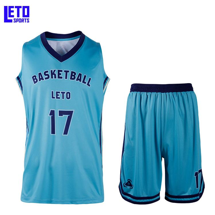 2020 new design basketball tops basketball shorts print name and number 2