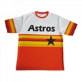 wholesale heat press baseball jersey