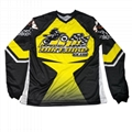 custom sublimation print racing jerseys