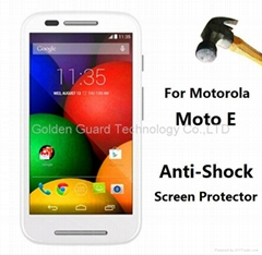 Moto E Anti Shock Screen