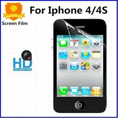 Iphone 4S Protector Clear Film Iphone4 Transpaent Film Iphone 4 Glossy Protectio