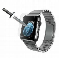苹果手表 IWATCH 42MM 钢化膜 智能手表钢化玻璃膜