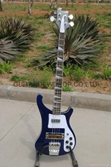 rickenbacker 4003 model classic blue electric bass guitar