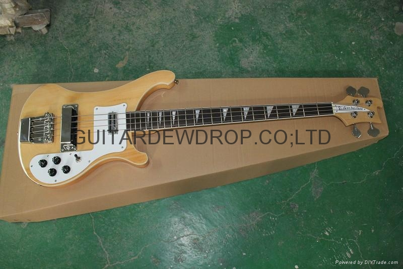 Rickenbacker rg 4003 model classic natural electric bass for Classic house bass