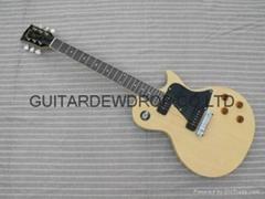 gibson les paul model natural electric guitar