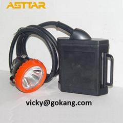 kl5lm(a) lithium battery led miner cap lamp