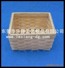 木片编织框