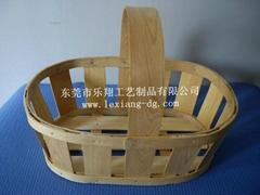 木片手提篮