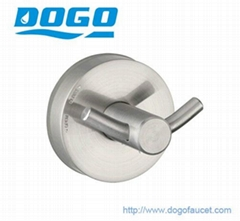 DOGO Metal suction robe hook