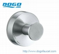 DOGO stainless steel suction robe hooks