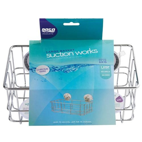 Suction Cup Shower Caddy Basket - DG- SF1024 - DOGO (China ...