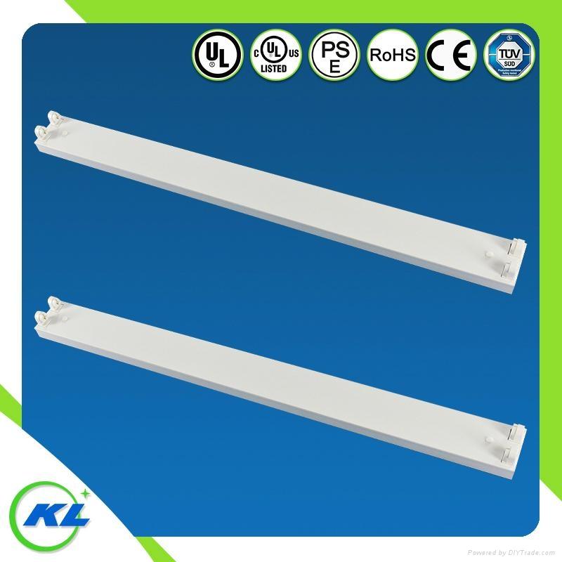 T8 batten light fixture with ULCUL certificate G13 lampholder 2*36w 1